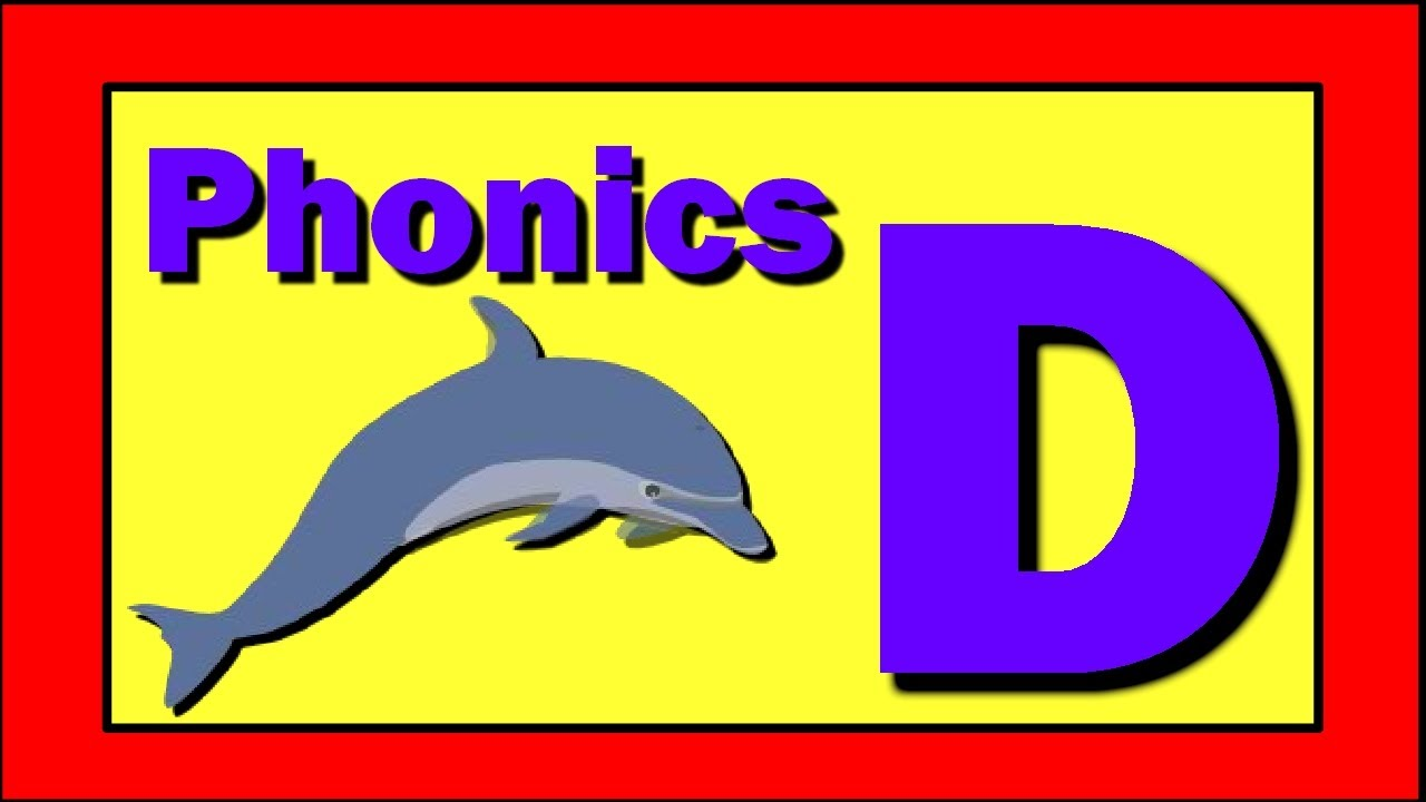 phonics words using letter d youtube