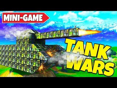 CRAZY TANK WARS Custom Minigame WITH SXVXN! (Fortnite Playground V2)