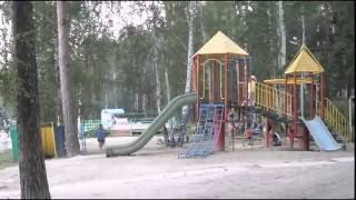 видео База отдыха «Янтарь» на озере Увильды