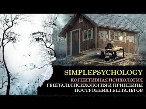 Когнитивная психология восприятия #25. Гештальтпсихология и принципы построения гештальта.