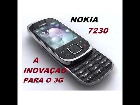 CELULAR NOKIA 7230 CROMO SLAIDE 3G SOBE & DESCE RELIQUIAS DO CELULAR 2017
