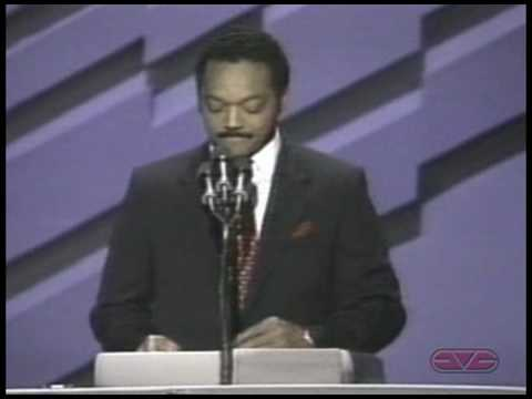 Jesse Jackson Speech to 1988 Democratic National Convention
