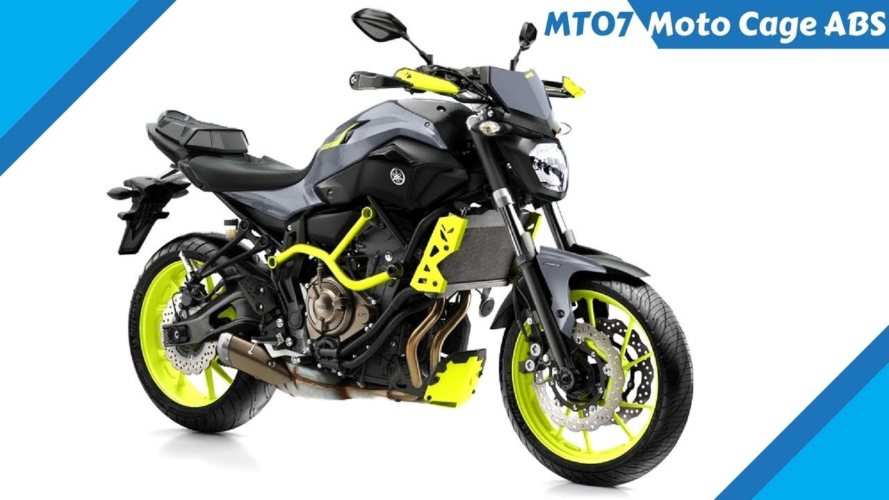 NEW 2017 Yamaha MT 07 Moto Cage ABS - extra chassis protection