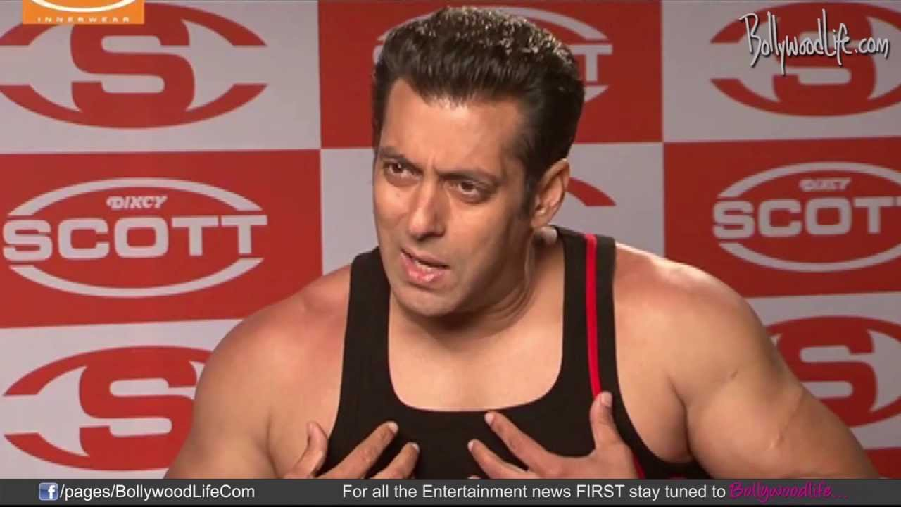 716d5bd36e59 Making - Salman Khan for Dixcy Scott Advertisment - YouTube
