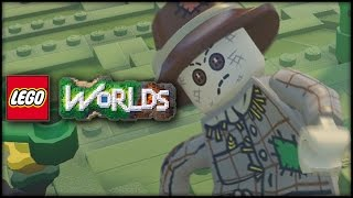 LEGO WORLDS - Episode 3 - ZOMBIE SCARECROWS ATTACK!