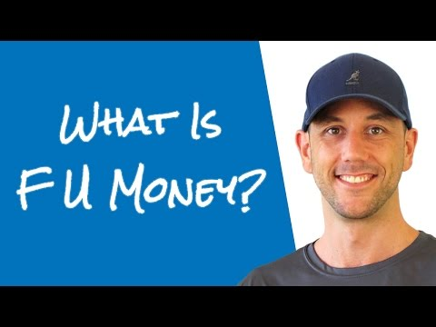 What Is FU Money?  ...And How Is It Different From Your Emergency Fund?
