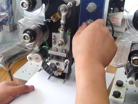 MZH IP Date printing Ribbon coder