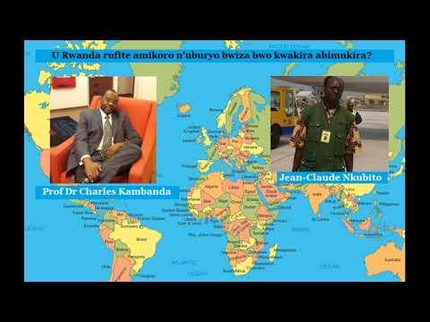 Prof Charles Kambanda na JC Nkubito basanga abategetsi b'u Rwanda bizeza abimukira ibyo badashoboye