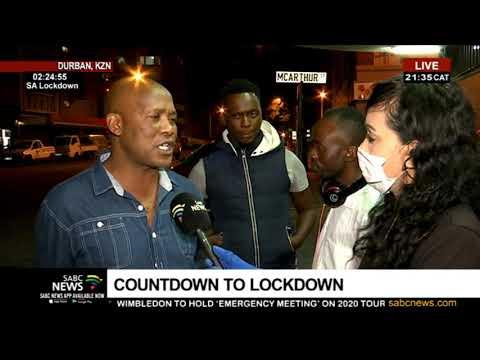 Countdown to Lockdown I KwaZulu-Natal readiness