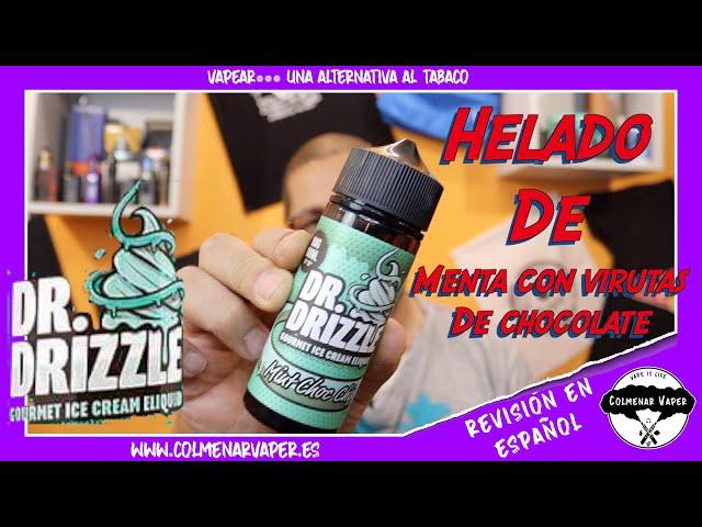 Cata ejuice 💨💨💨  MINT CHOC CHIP de DR DRIZZLE