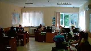 Дневное видео (режим AHD-L) с купольной AHD камеры на базе модуля 1/4