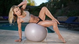 5 Minute Fat Burning Workout #99 - Balance Ball