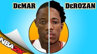 DEMAR DEROZAN evolution [NBA 2K10 - NBA 2K16] 🏀