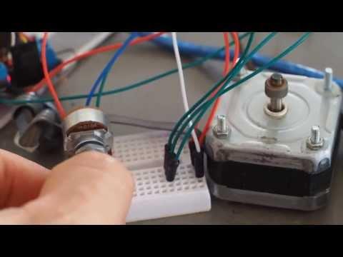 Steppers Motor Test Epson 230 Youtube