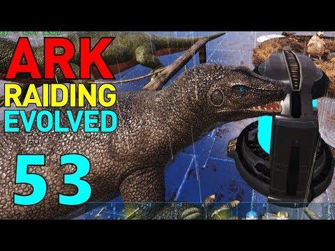 [53] Toxic Breeding! (ARK Raiding Evolved) - YouTube