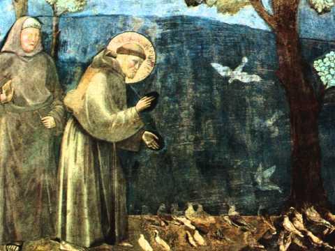 Francesco d'Assisi - cantico delle creature (poesia recitata)