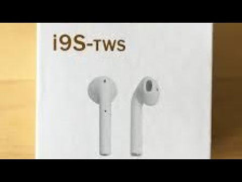 How to pair i9s TWS fake airpods to Windows 10 computer desktop