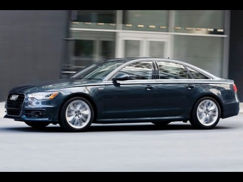 2014 Audi A6 Start Up and Review 3.0 L Supercharged V6