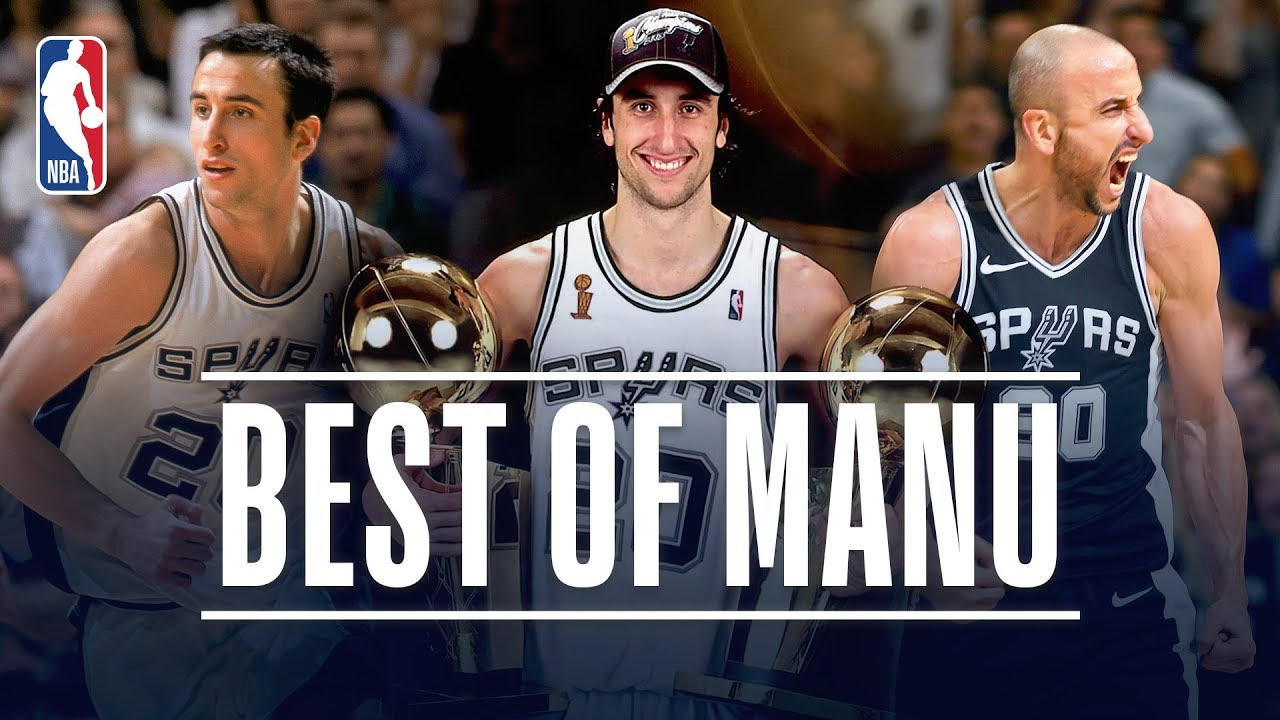 best website 6eea4 fe64d Best of Manu Ginobili With The San Antonio Spurs