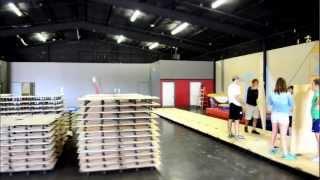 Part 1 of building a gymnastics floor