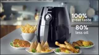 Philips Air Fryer Tvc- Cook Delicious Fried Food With 80% Less Oil