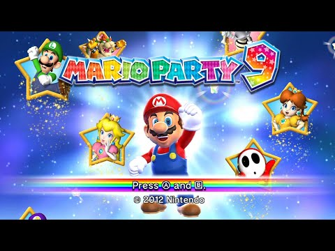 Mario Party 9 - Solo Mode Complete Playthrough - All Boards