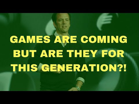 Phill Spencer is Commited To Bringing 1st Party Games To Xbox! However Are They Coming This Gen?