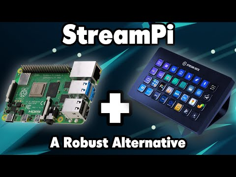 Introducing the StreamPi! (A FREE robust Streamdeck Alternative)