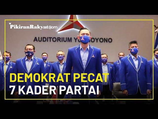 Diduga Terlibat Gerakan Ambil Alih Partai, Demokrat Pecat 7 Anggota Termasuk Marzuki Alie