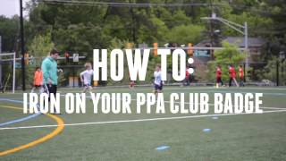 HOW TO: Iron On Your PPA Club Badge