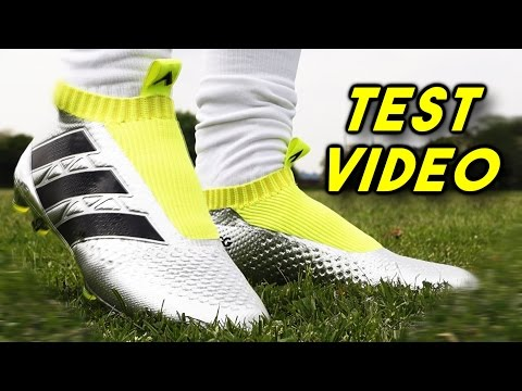 TEST: Adidas Ace 16+ PureControl 'Laceless' Boot Test - Pogba & Özil Boots 2016 - DJMoore98