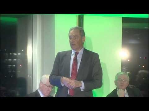 Sir Jeremy Greenstock Presetation, for Cardiff Business Club at St Davids hotel, 12 March, 2015