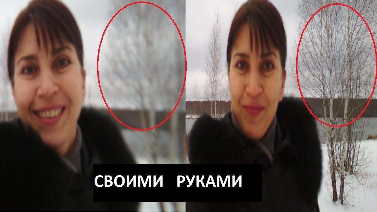 АНДРОИД Расплывчатый фон сзади на видео / фото / эффект ...