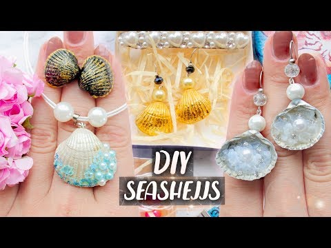 jewelry-with-seashells-►-summer-diy-◄-easy