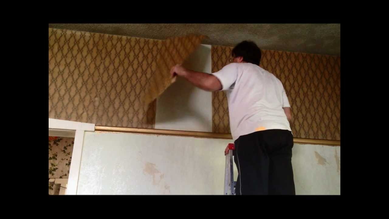 Plastering Quickest Way Of Removing Wallpaper Before