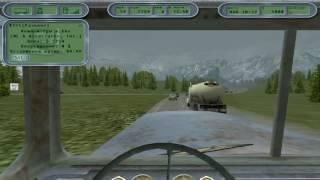 Hard Truck: 18 Wheels of Steel 2002 (pc) gameplay на руле Logitech