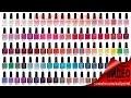 CND Shellac палитра цветов - CND Shellac colors chart (видео уроки дизайна ногтей)
