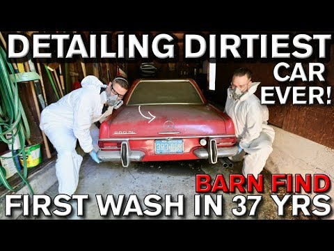 Detailing Dirtiest Car