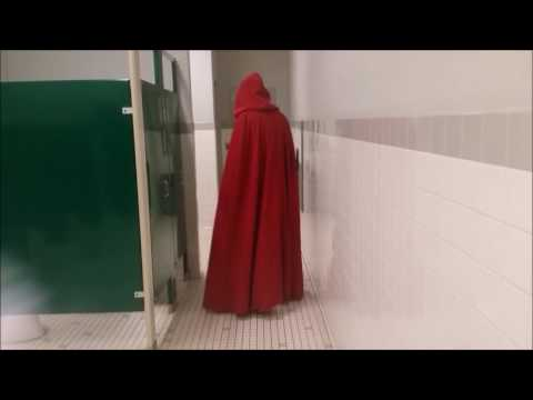 Aka Manto Red Cape  The 2012 Female Restroom Reboot
