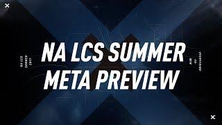 Zirene's NA LCS Summer Meta Preview (2017)