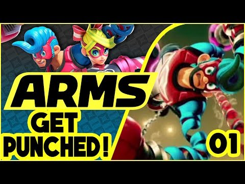 GET PUNCHED! Episode 1 - ARMS Matches With Subscribers! [Nintendo Switch]