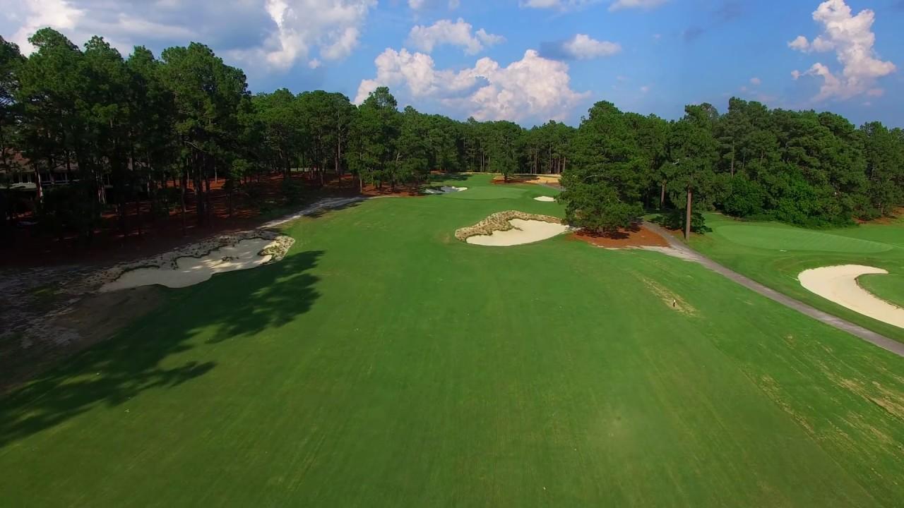 Pine Needles Golf Course 1st Hole Youtube