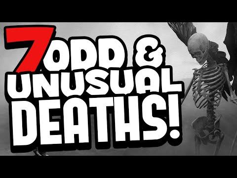 7 Odd & Unusual Deaths