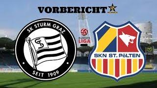 Alles auf Anfang? SK Sturm Graz - SKN St.Pölten Vorbericht Öst.Bundesliga 14.Spieltag