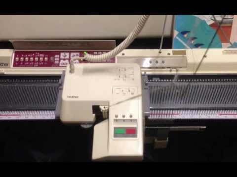 Brother Knitting Machine Electronic Kh 950i + KG 95 Garter Carriage Electroknit Knitter For Sale