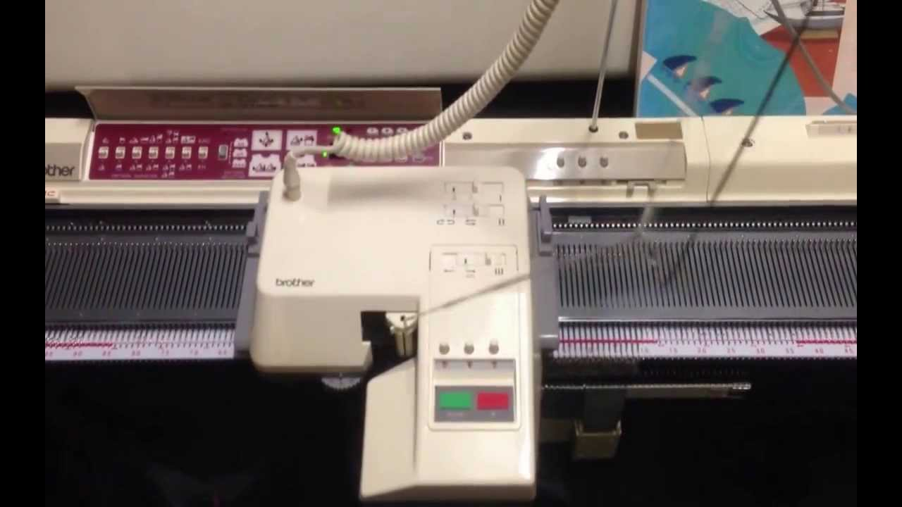 Knitting Machine For Sale : Brother knitting machine electronic kh i kg garter