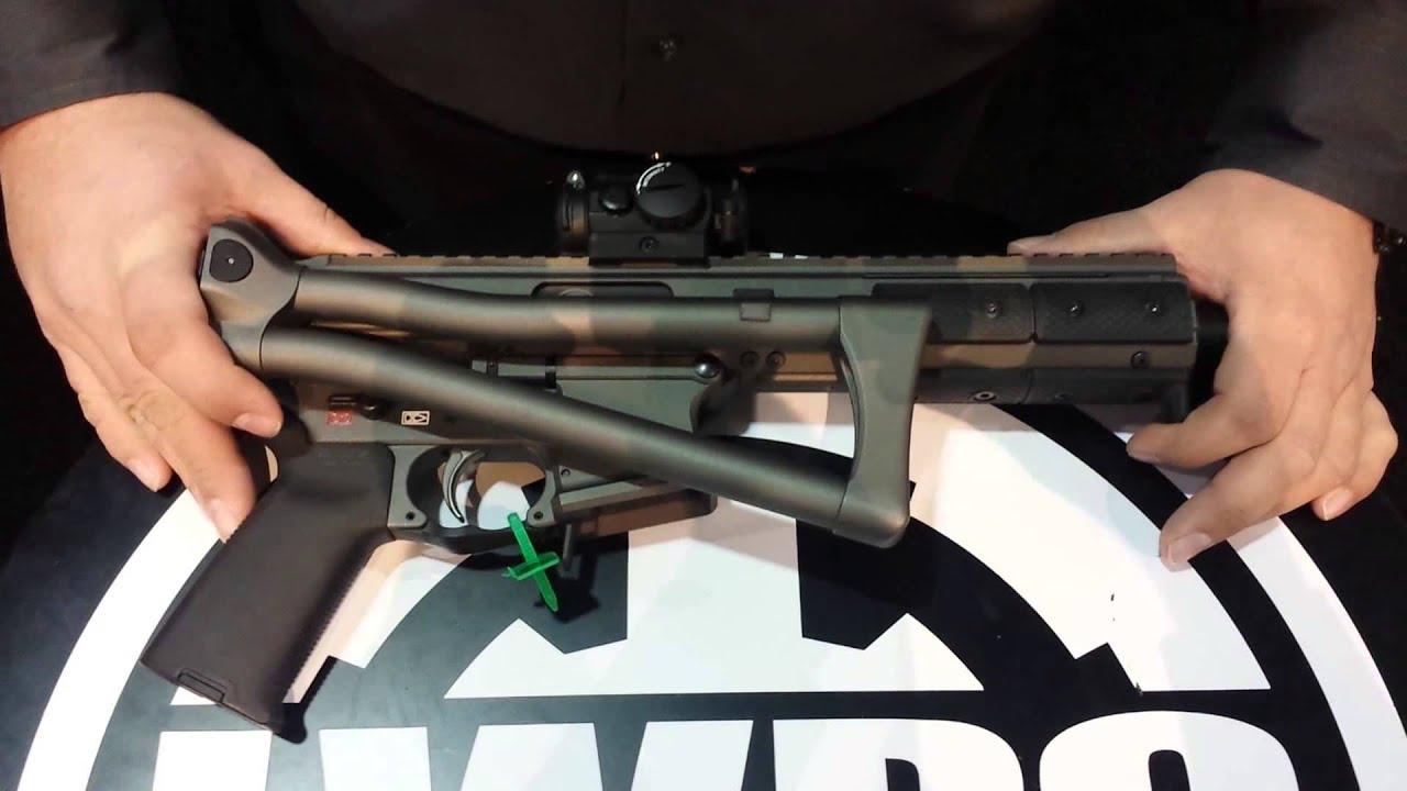 LWRC SMG45 -Sub Machine Gun in 45ACP - YouTube