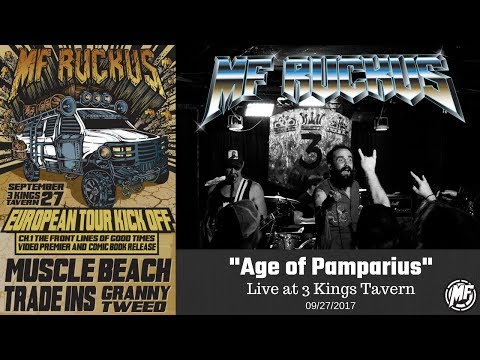 MF Ruckus - Age of Pamparius (Turbonegro Cover) - Live at 3 Kings Tavern