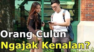 Gambar cover REAKSI CEWEK DIAJAK KENALAN ORANG CULUN - Social Experiment Indonesia