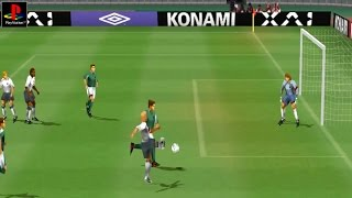 Pro Evolution Soccer - Gameplay PSX / PS1 / PS One / HD 720P (Epsxe)